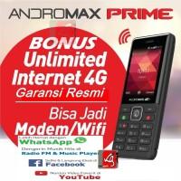 HP smartfren andromax prime 4g lte Bonus Kuota Unlimited garansi resmi