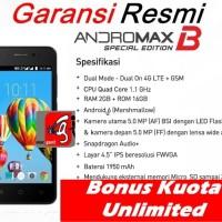 HP smartfren andromax BSE Bonus Kuota Unlimited 30 Hr B SE 2GB / 16 GB