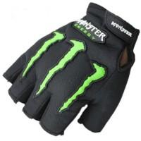 Sarung Tangan Motor Half Finger Monster Energy OMSEFTBK