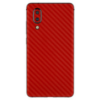 3M Skin / Garskin Protector Sharp Aquos S2 - 3M Red Carbon