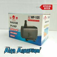 Pompa Air Mini Yamano WP 105 Mesin Aquarium Celup Kolam Ikan Koi WP105