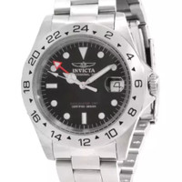 NEW WATCH ORIGINAL INVICTA 9401 Pro Diver GMT Quartz Stainless Steel