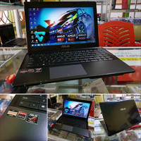 laptop seken LAPTOP SLIM ASUS X45U GAMER ATI RADEON