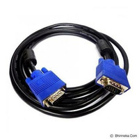 KABEL VGA TO VGA 5 METER UNTUK TV LED/LCD LAPTOP PROJECTOR DLL
