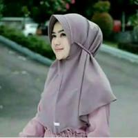 Jual hijab / jilbab simpel pad tali / jilbab murah / jilbab instan Murah