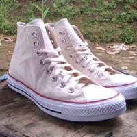 sepatu converse all star hi cream / white original made in indonesia