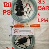 Steam Mesin Terbaru 120psi 5lpm 8.5bar Alat Cuci Motor PUMP /