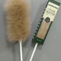 Polidor Wool Duster Multi, kemoceng bulu domba multi use - Cokelat Tua