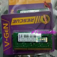 RAM ddr3 sodim 4Gb Vgen (memori laptop/nootbook)