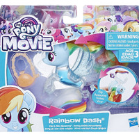 My Little Pony the Movie Rainbow Dash Flip & Flow Seapony HASBRO