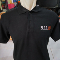 Kaos Polo Shirt 511 Hitam