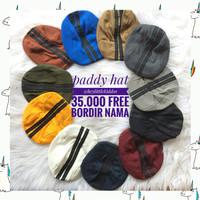 Paddy Hat / Topi ped bordir nama