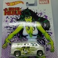 Hot Wheels HW Women Of Marvel She Hulk Custom 77 Dodge Van