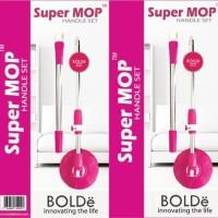 Bolde Handle Set Super Mop / Sparepart Tongkat Tangkai dan Kepala