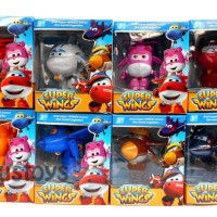 Mainan Anak FIGURE SUPER WINGS 8 PCS - KADO MAINAN ANAK MURAH