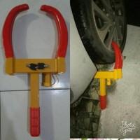 Sale! Kunci Gembok, Kunci Pengaman Mobil Model Di Roda Ban Murah