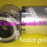 1DUS/12ROLL SEALER POLOS tutup gelas plastik cup roll lid seal press