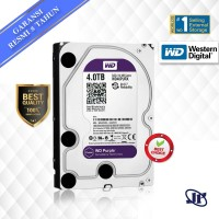 Harddisk Internal WD PURPLE 4TB 64MB SATA3 5400RPM (FOR CCTV)