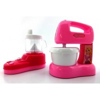NB-03019-DISNEY PRINCESS KITCHEN SET - MIXER & JUICER