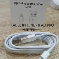 KABEL DATA APPLE IPAD PRO 2 METER ORIGINAL USB IPHONE 6 IPHONE7