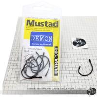 Mustad | DEMON LIGHT GAUGE CIRCLE HOOK (Ultrapoint) - Size 5/0 8pcs
