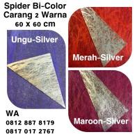 Carang Spider Bi-Color(2warna)/Kertas Bungkus Buket Bunga Metalik