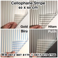 Cellophane Stripe/Kertas Bunga/Buket Bunga/Flower Wrapping Paper