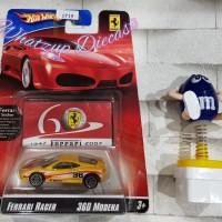 Hot Wheels Ferrari 360 Modena (Ferrari Racer) - YELLOW