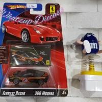 Hot Wheels Ferrari 360 Modena (Ferrari Racer) - RED & BLACK