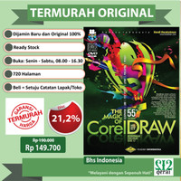 TERMURAH ORIGINAL BUKU THE MAGIC OF COREL DRAW
