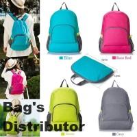 #BD Foldable Backpack / Travel / Tas Punggung Lipat / Ransel Traveling