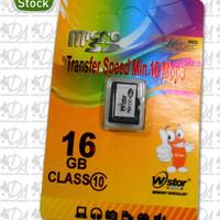 Memori memory card hp mikro micro SD WStor 16gb class 10 ori original