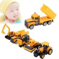 [PRE ORDER] 5pcs Mobil Mainan Anak-anak Bayi alat berat Untuk Anak