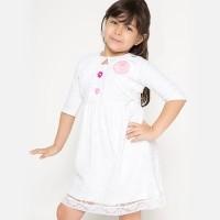 4 You Bolero Tile Dress Putih - Size S