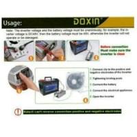 Power Inverter 500W Famous Brand 500 watt DOXIN merubah arus DC 12V gr