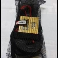 (Promo Ongkir!!) Sandal Gunung Eiger Selop Hitam Tali List Merah ....