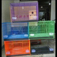 Stok Baru - Kandang Besi Lipat Kotak Untuk Kucing, Anjing Ayam