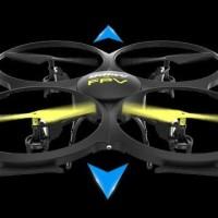 MAINAN REMOT CONTROL Terpilih jadi drone pemula terbaik: UDI U818A