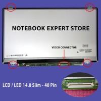 LAYAR LAPTOP ASUS A46C A46CA A46CB A46CM LCD LED 14.O SLIM TIPIS 40PIN