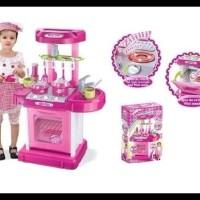 Murah Banget ! Kitchen Set Koper Pink