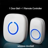 Door Bell FX-C Wireless Waterproof Door Bell (One Driven One) - White