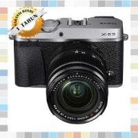 Harga fujifilm fuji x e3 mirroless kamera xf 18 55mm silver | Pembandingharga.com