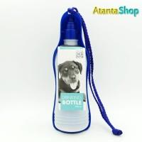 M-Pets - Drinking Bottle 500ml botol minum untuk jalan jalan anjing