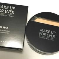 Make Up For Ever Duo Mat Powder Foundation - 203 Light Beige