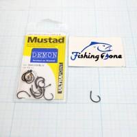 Mustad DEMON Light Gauge Circle Hook Size 4 - Qty 15 pcs