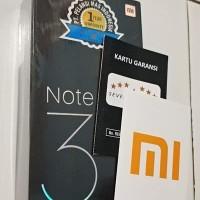 HP Xiaomi MI Note 3 RAM 6GB - ROM 64GB - BLACK  GARANSI 9 bulan lagi