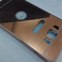 Samsung Galaxy J5 2016 Mirror case aluminium bumper kilat cermin J 5