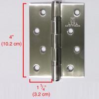 """Engsel Kupu 4"""" - Stainless Steel SUS-304 (Tahan Karat) - Merk : LAMA"""