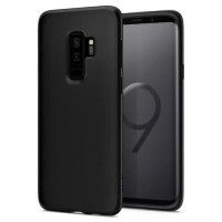 Spigen Samsung Galaxy S9 Plus Case TPU Liquid Crystal Matte Black