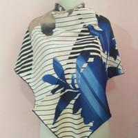 jilbab Turki asli impor warna putih biru abu rayon silk lembut SALE